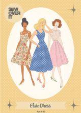 Vintage Style 1950's 'Elsie' Dress Pattern